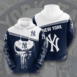 MLB New York Yankees 3D Hoodie V16