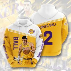 NBA Los Angeles Lakers 3D Hoodie V16