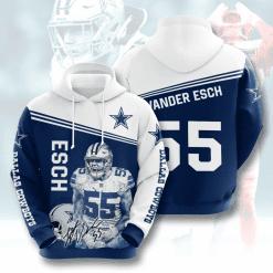 NFL Dallas Cowboys 3D Hoodie V16