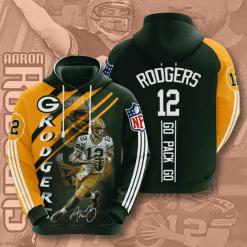 NFL Green Bay Packers 3D Hoodie V16