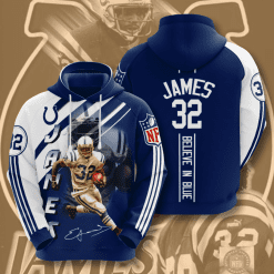 NFL Indianapolis Colts 3D Hoodie V16