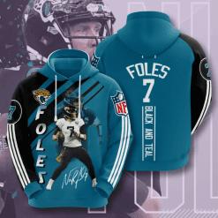NFL Jacksonville Jaguars 3D Hoodie V16