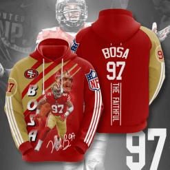 NFL San Francisco 49ers 3D Hoodie V17