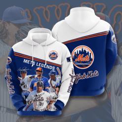 MLB New York Mets 3D Hoodie V17