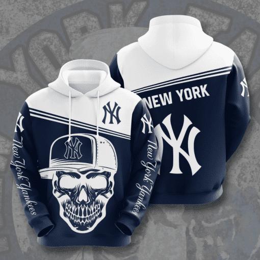 MLB New York Yankees 3D Hoodie V17