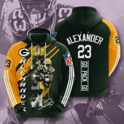 NFL Green Bay Packers 3D Hoodie V17