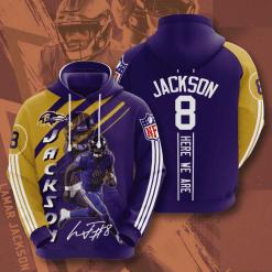 NFL Baltimore Ravens 3D Hoodie V17