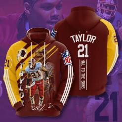 NFL Washington Redskins 3D Hoodie V18