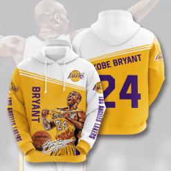 NBA Los Angeles Lakers 3D Hoodie V18