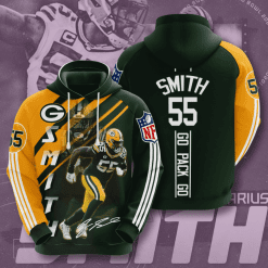 NFL Green Bay Packers 3D Hoodie V18