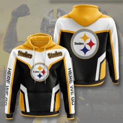 NFL Pittsburgh Steelers 3D Hoodie V18