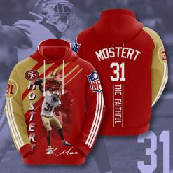 NFL San Francisco 49ers 3D Hoodie V18