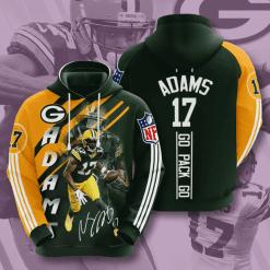 NFL Green Bay Packers 3D Hoodie V19