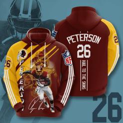 NFL Washington Redskins 3D Hoodie V19