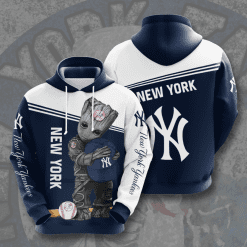 MLB New York Yankees 3D Hoodie V19