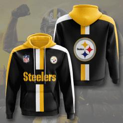 NFL Pittsburgh Steelers 3D Hoodie V19
