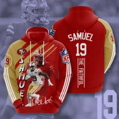 NFL San Francisco 49ers 3D Hoodie V19