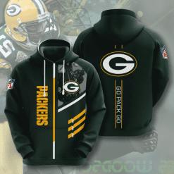 NFL Green Bay Packers 3D Hoodie V2