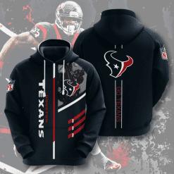 NFL Houston Texans 3D Hoodie V2