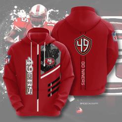 NFL San Francisco 49ers 3D Hoodie V2