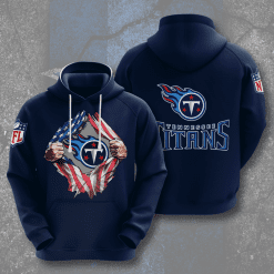 NFL Tennessee Titans 3D Hoodie V2