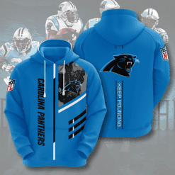 NFL Carolina Panthers 3D Hoodie V2