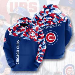 MLB Chicago Cubs 3D Hoodie V2