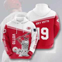 MLB Cincinnati Reds 3D Hoodie V2