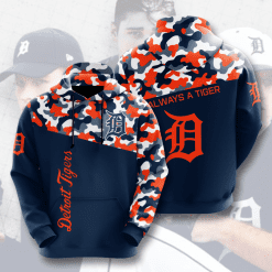 MLB Detroit Tigers 3D Hoodie V2