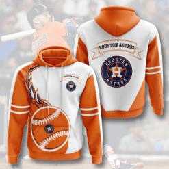 MLB Houston Astros 3D Hoodie V2