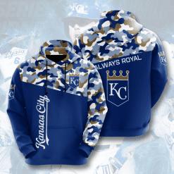MLB Kansas City Royals 3D Hoodie V2