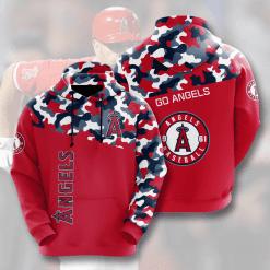MLB Los Angeles Angels 3D Hoodie V2
