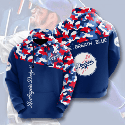 MLB Los Angeles Dodgers 3D Hoodie V2