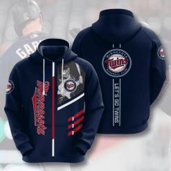 MLB Minnesota Twins 3D Hoodie V2