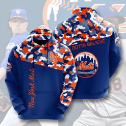 MLB New York Mets 3D Hoodie V2