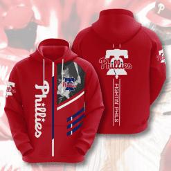 MLB Philadelphia Phillies 3D Hoodie V2