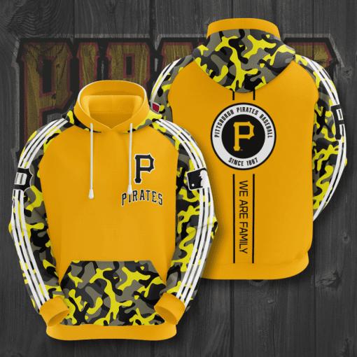 MLB Pittsburgh Pirates 3D Hoodie V2
