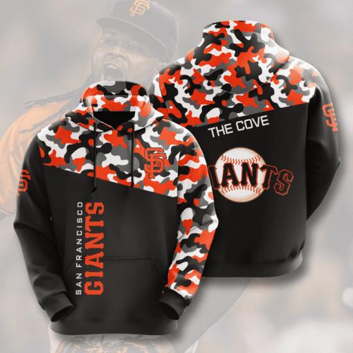 MLB San Francisco Giants 3D Hoodie V2
