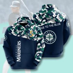MLB Seattle Mariners 3D Hoodie V2