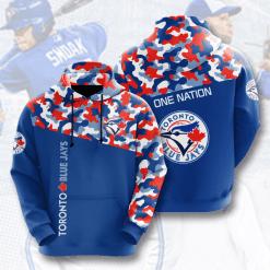 MLB Toronto Blue Jays 3D Hoodie V2