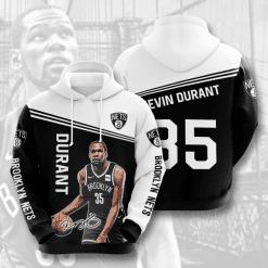 NBA Brooklyn Nets 3D Hoodie V2