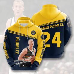 NBA Denver Nuggets 3D Hoodie V2