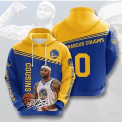 NBA Golden State Warriors 3D Hoodie V2