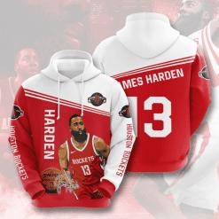 NBA Houston Rockets 3D Hoodie V2