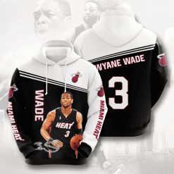 NBA Miami Heat 3D Hoodie V2
