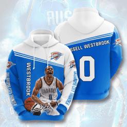 NBA Oklahoma City Thunder 3D Hoodie V2
