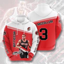 NBA Portland Trail Blazers 3D Hoodie V2