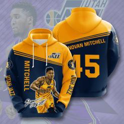 NBA Utah Jazz 3D Hoodie V2