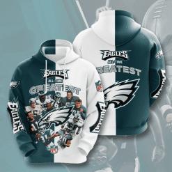 NFL Philadelphia Eagles 3D Hoodie V20