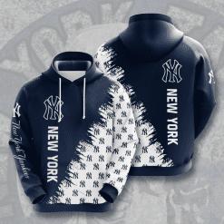 MLB New York Yankees 3D Hoodie V20